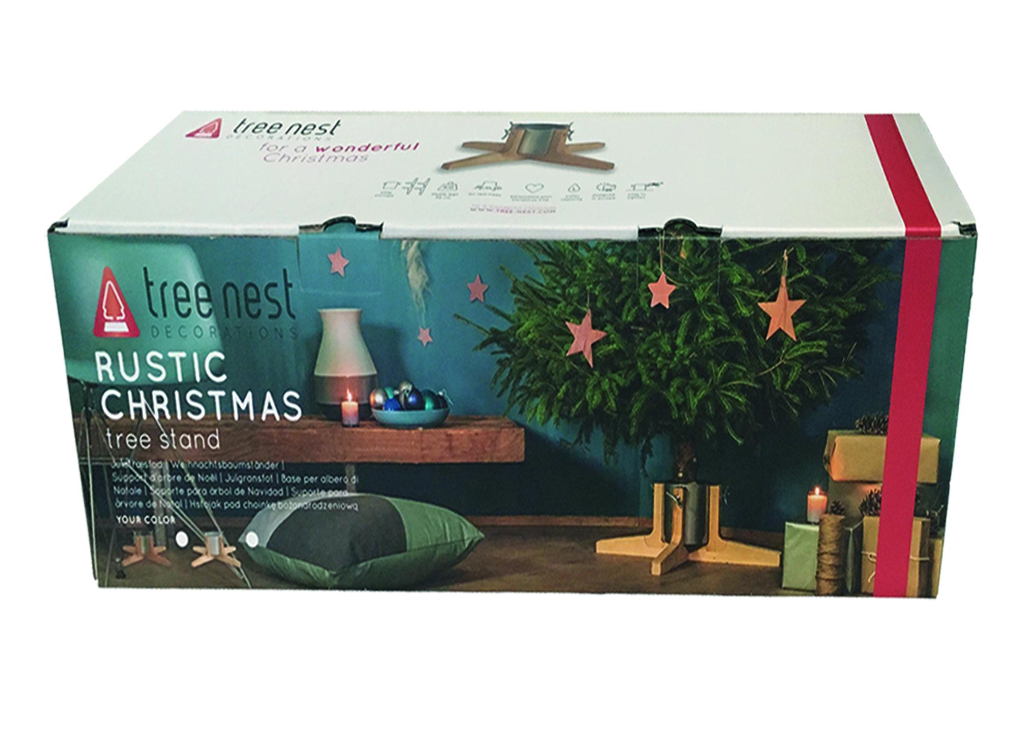 Rustic Christmas Tree Stand Real Fresh Christmas Trees